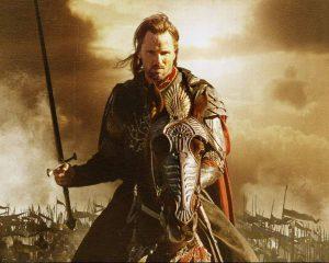 Viggo Mortensen as Aragorn, an archetypal Leader.
